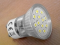LED bulb MR11 12SMD 2W GU10